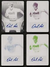 Daniel Palka 2013 Bowman Sterling Printing Plate Auto Card Set #1/1 All Four