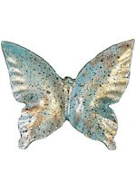Vintage Metal Small Butterfly Dcorative Wall Or Table Japan Trinkets Holder