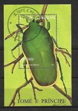 Animaux Insectes Saint Thomas et Prince (59) bloc oblitéré