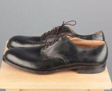 Vtg Men's 1962 US Army Black Service Shoes sz 14.5N 1960s #3992s Vietnam War 60s
