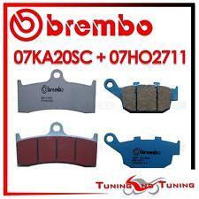 Pastiglie Freno BREMBO Ant. SC + Post. CC BUELL S3 THUNDERBOLT 1200 2000 2001 01