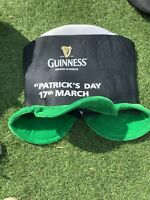 Guinness St Patrick's Weekend Fancy Dress Hat Celebrate Authentic Pub Issue.