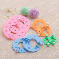 8 Stücke Multifunktions Pompon Maker Fluff Ball Weaver Nadel Stricken DIY ZJHN
