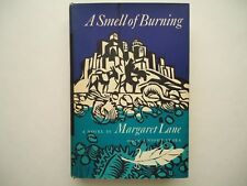 A Smell Of Burning Margaret Lane 1966 1st American ed Guy Fleming jacket design