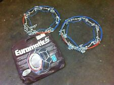 RUD SNOW CHAINS (PAIR) - RUD-MATIC - EUROMATICs + BAG - EX HIRE 48-684