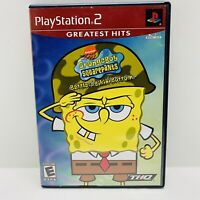 Spongebob Battle For Bikini Bottom PS2 PlayStation 2 Video Game Complete Tested!