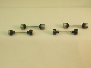 AURORA AFX FRONT/REAR AXLES WITH WHEELS ~ MAGNATRACTION ~ 2 FULL SETS ~ NM-NOS