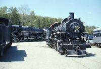 Unidentified Railroad Steam Locomotives Steamtown? Original Photo Slide