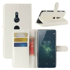 Cartera De Bolsillo Premium Blanco para Sony Xperia XZ2 Cubierta la caja sobres