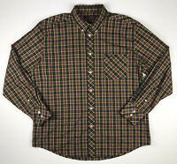 Ben Sherman Men's Checkered Long Sleeve Dress Shirt Size XXL
