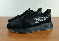 Adidas ZX 500 RM Men's Sneakers Boost Alphatype Pack Black BB7443 Size 9 10.5 11