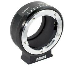 Metabones Nikon G Mount Lens to Sony E-mount/NEX Lens Mount Adapter, Matte Black