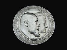 Dt. Reich, Württemberg, 3 Mark, 1911 F, Wilhelm II. & Charlotte, Silber, f/St.!