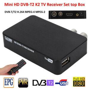 HD 1080P DVB-T2 3D Set Top TV Box Digital Receiver Freeview Recorder USB HDMI