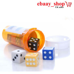 NEW DICE ACRYLIC SIX SIDED SPOT HOME INDOR GAME DICE LUDO DICE WAR GAME SET PLAY