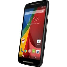 New Motorola Moto G 2nd Generation 16GB Black Wifi GPS 8MP Unlocked Smartphone