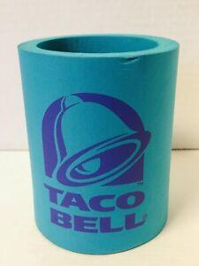Vintage 90s Taco Bell Koozie Beer Can Holder Logo