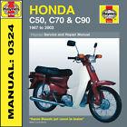 Honda C50 C70 C90 Stepthru 1967-2003 Haynes Manual 0324 NEW
