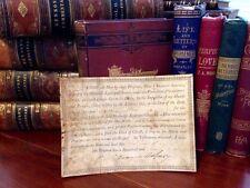 1792 FRANCIS ASBURY Vellum SIGNED Methodist PETER CARTWRIGHT Jacob Lurton RARE