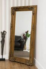 Large Abbey Leaner Gold Decorative Wall Mirror New 6Ft X 3Ft 175cm x 89cm