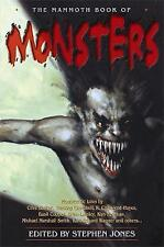 The Mammoth Book of Monsters (Mammoth Books), Jones, Stephen, New Book