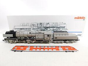 CR752-2# Märklin H0/AC 3302 Lok mit Tender Borsig 53 0001 DRG NEM KK, NEUW+(OVP)