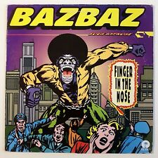 "CAMILLE BAZBAZ : FINGER IN THE NOSE (REMIXES) ♦ MAXI 45 TOURS // 12"" SINGLE ♦"