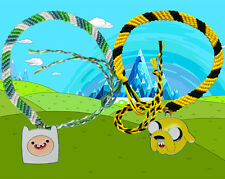 Adventure Time Finn & Jake bracelets with charms twin pack FREE POSTAGE