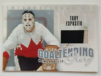 2006-07 In The Game 1/60 Tony Esposito Jersey Card
