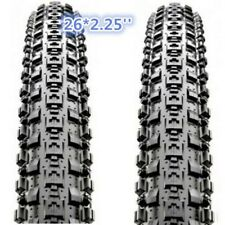 "1 PAIR  Maxxis Crossmark MTB Tyres 26 x 2.25""Black Mountain Bike Tire 65PSI"