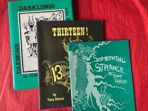 Tony 'Doc' Shiels 13! SOMETHING STRANGE, DAEMONS DARKLINGS & DOPPLEGANGERS