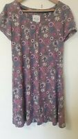 Mistral Floral Cotton Tunic Dress Size 12