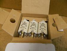 (3) JEAN MULLER FUSE 63A GL-GG 500V 120KA M1GL63 NH1 DIN 43620 63A 63 A AMP NIB