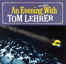 An Evening Wasted With Tom Lehrer LEHRER,TOM Audio CD
