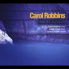 CAROL ROBBINS - CHORDS IN BLUE: JAZZ HARP * NEW CD