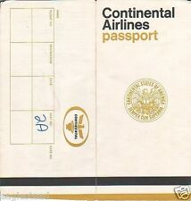 Ticket Jacket - Continental - Passport - States of America (TJ607)