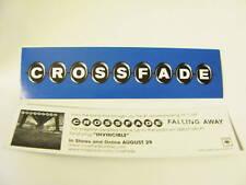 Crossfade Falling Away Bike Board Amp Promo Sticker
