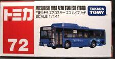TOMY TOMICA No. 72 MITSUBISHI FUSO AERO STAR ECO HYBRID BUS
