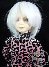 Mini Super Dollfie MSD Milky White 7-8 Wig #4051-1001