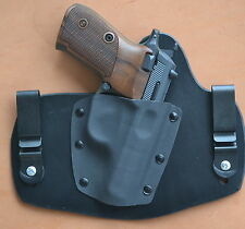 leather/kydex hybrid IWB tuckable holster for CZ 82/83