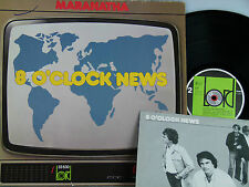 Maranatha -8 O' Clock News (Deutschrock)  Insert  D-1980  Lord 33 530  woc.