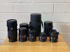 Minolta Sony auto focus Lenses