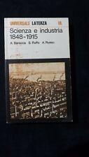AAVV  Scienza e industria 1848 - 1915 UL 1979