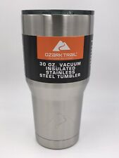 New Ozark Trail 30 oz Tumbler Vacuum Insulated Stainless Steel Travel Mug