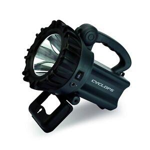 Cyclops 10 Watt LED Rechargeable Spotlight-Grey CYC-10W