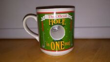 Preowned The Official Hole in One Golf Coffee Mug cup Papel Thailand Masters