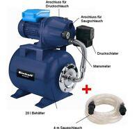Einhell BG WW 636 Set Hauswasserwerk Garten Haus Wasser Werk Pumpe