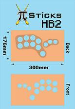 Raspberry Pi Hazlo tú mismo panel de cara de palo de máquina Arcade hace su propia Sanwa stick HB2!