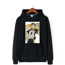 Haikyuu!! Bokuto Koutarou Hoodies Coat Sweater 100% Cotton