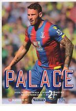 2015-16 - Crystal Palace v Aston Villa 22.8.2015